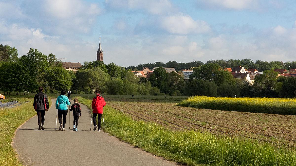 Jakobsweg Franken Karte.Stadt Stein Der Jakobsweg In Stein